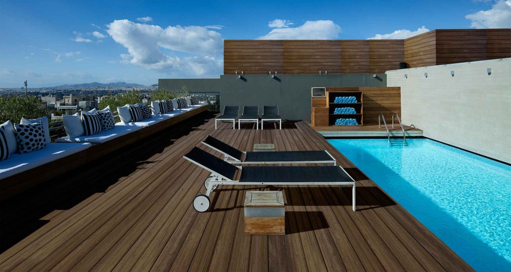 The Best Rooftop Pools in Athens with Stunning Views