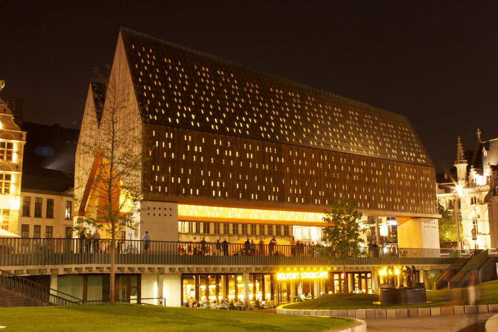 Ghent City Pavilion | © Thomas Vlerick / Flickr