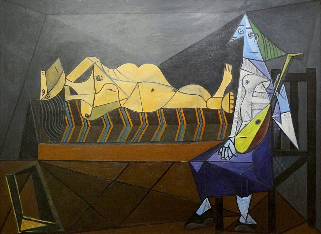 """L'aubade"", Pablo Picasso, 1942 │© Centre Pompidou gregory lejeune / Flickr"