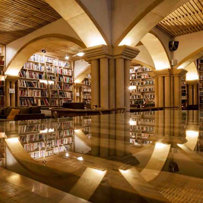This Hotel in a 700-Year-Old City in Portugal Is a Book-Lover's Heaven
