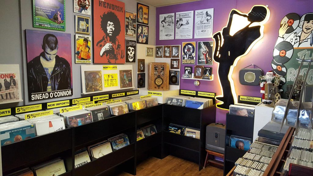 Best vinyl store Micogram Music Traders