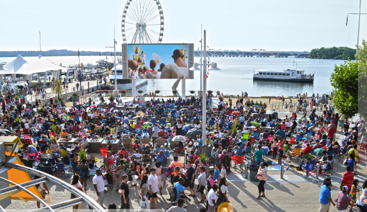 Movies on the Potomac | Courtesy of National Harbor