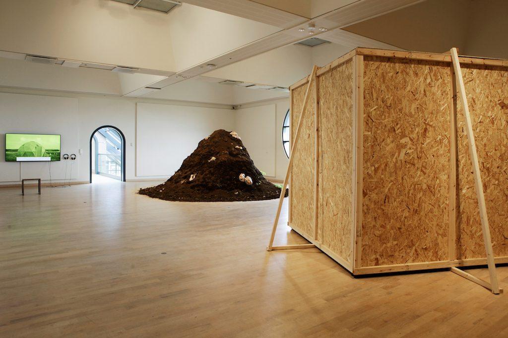 Icelandic Art Academy MFA Degree Show, 2016, Installation View at Gerðarsafn- Kópavogur Art Museum | Courtesy of Anne Rombach