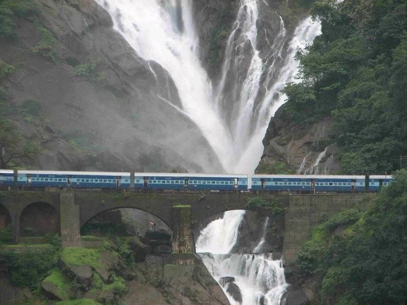 راه آهن وسیع هند