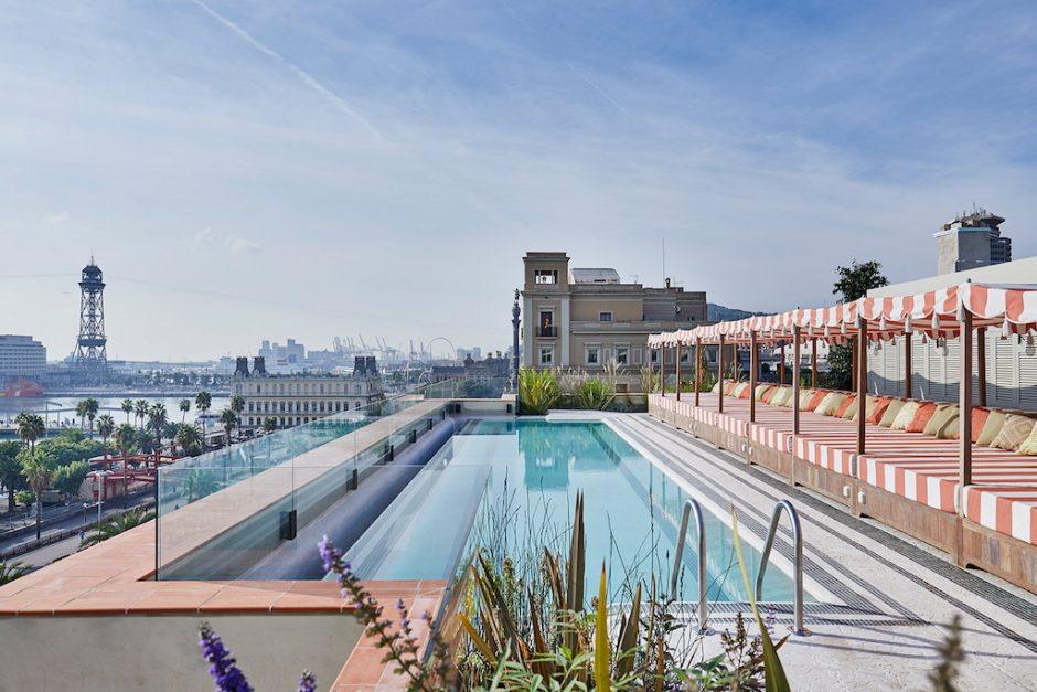 The Soho House pool Courtesy of Soho House Barcelona