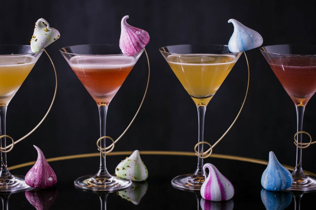 The cocktails in all their glory | © Quaglino's