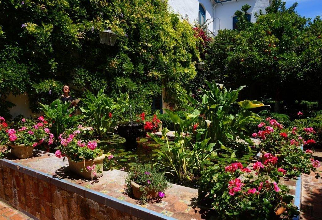 Gardens at the Palacio de Viana; Encarni Novillo