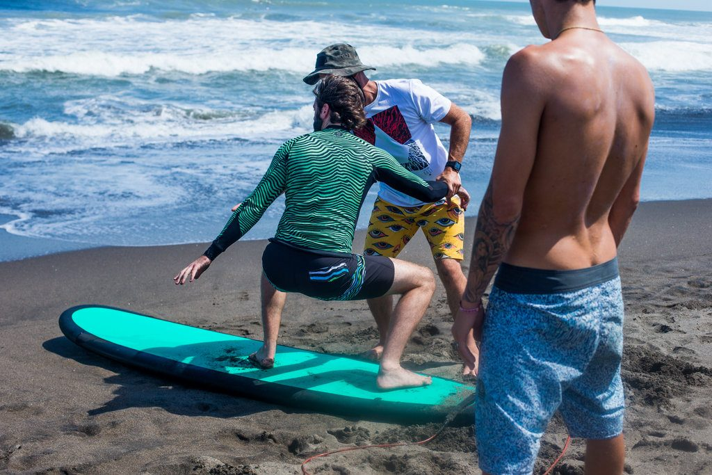 Conquering the sand before the sea | © Luke Forgay/Volcom