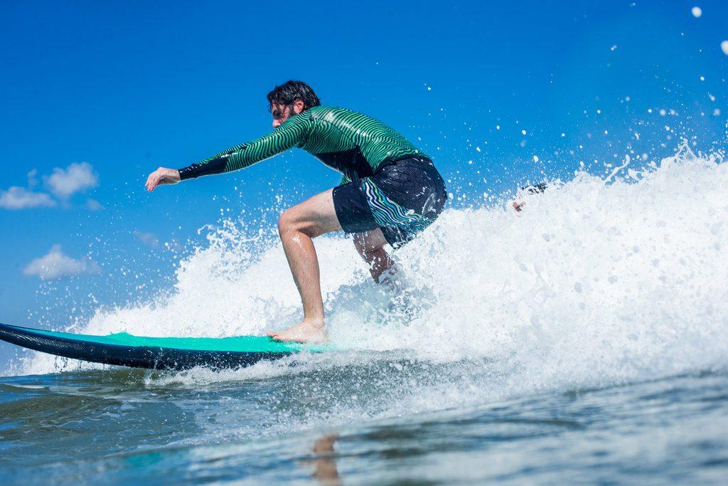 I'm officially a surfer now | © Luke Forgay/Volcom