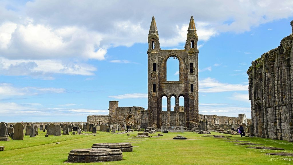 St Andrews Cathedral | © Pixabay