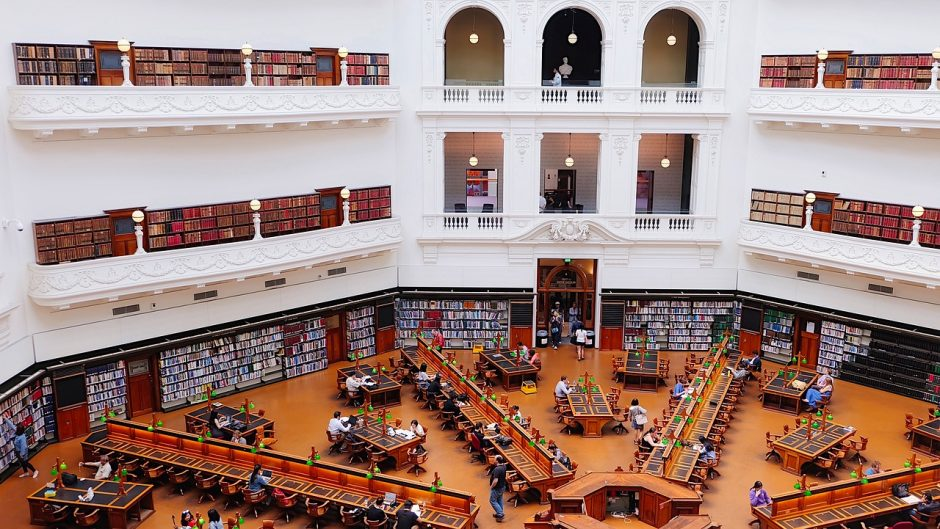 State Library of Victoria, Melbourne VIC