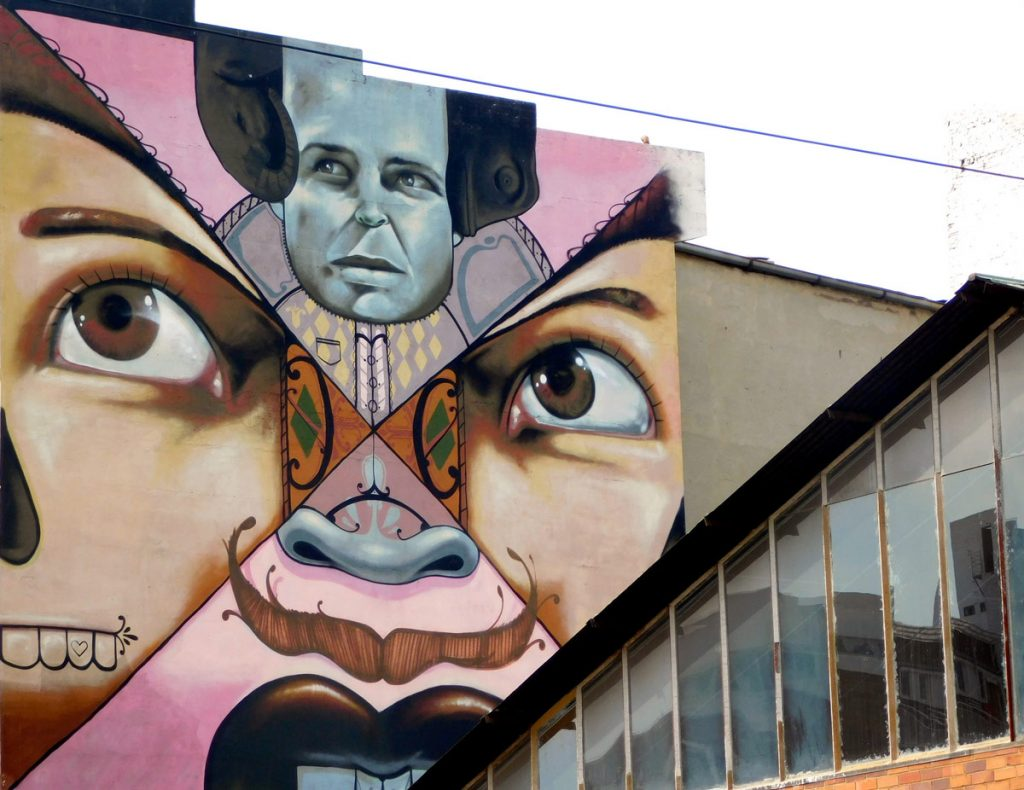 Street art Falko