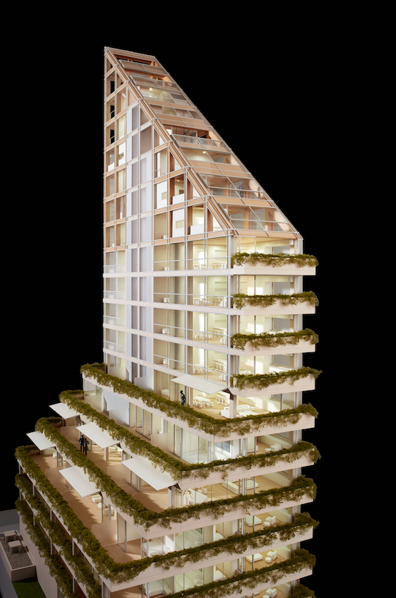 Check Out the World's Tallest Hybrid Timber Structure
