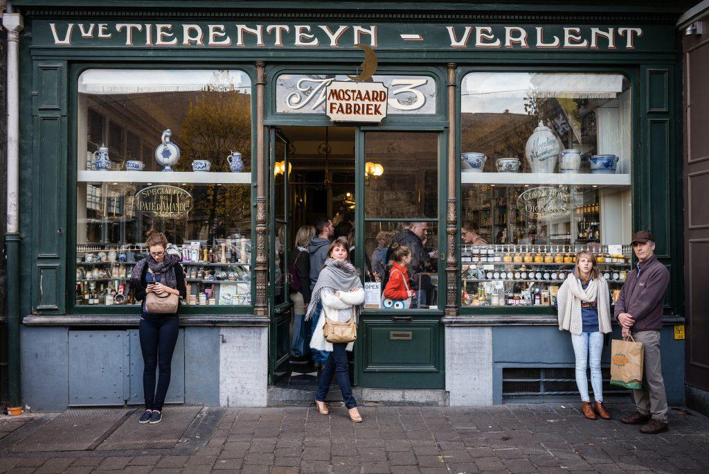 Tierenteyn - Verlent on the Groentenmarkt | courtesy of Visit Ghent