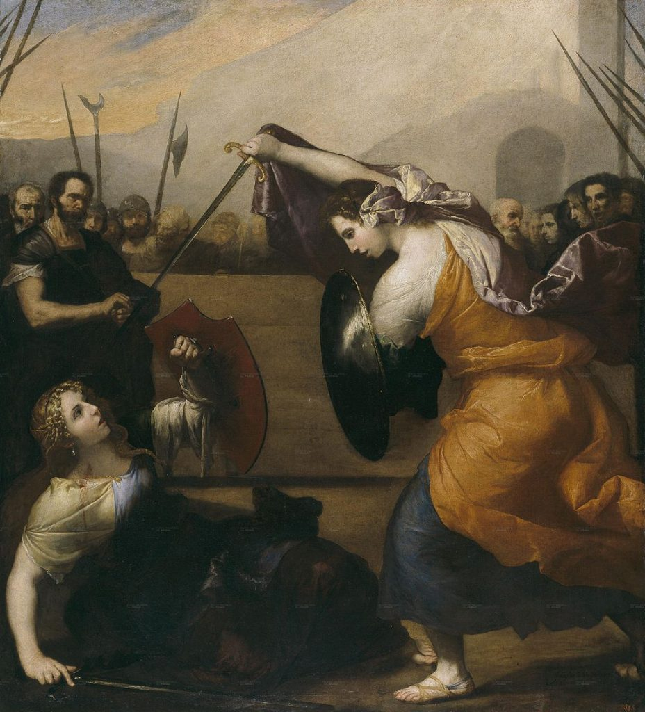 Women Gladiators, 1636 | Jusepe de Ribera / Wikimedia Commons