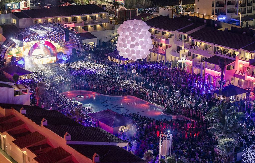 Ushuaia Ibiza Beach Hotel courtesy of Palladium Hotel Group
