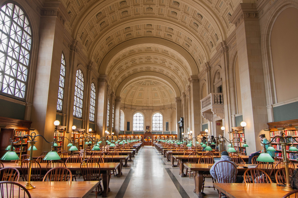 Boston Public Library | © jbattis/flickr