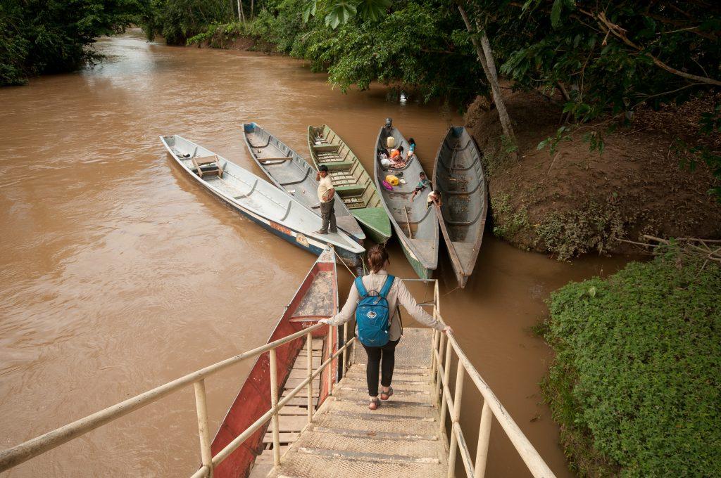Boats on the river, Yasuni National Park | © -MattHewitt- / Flickr