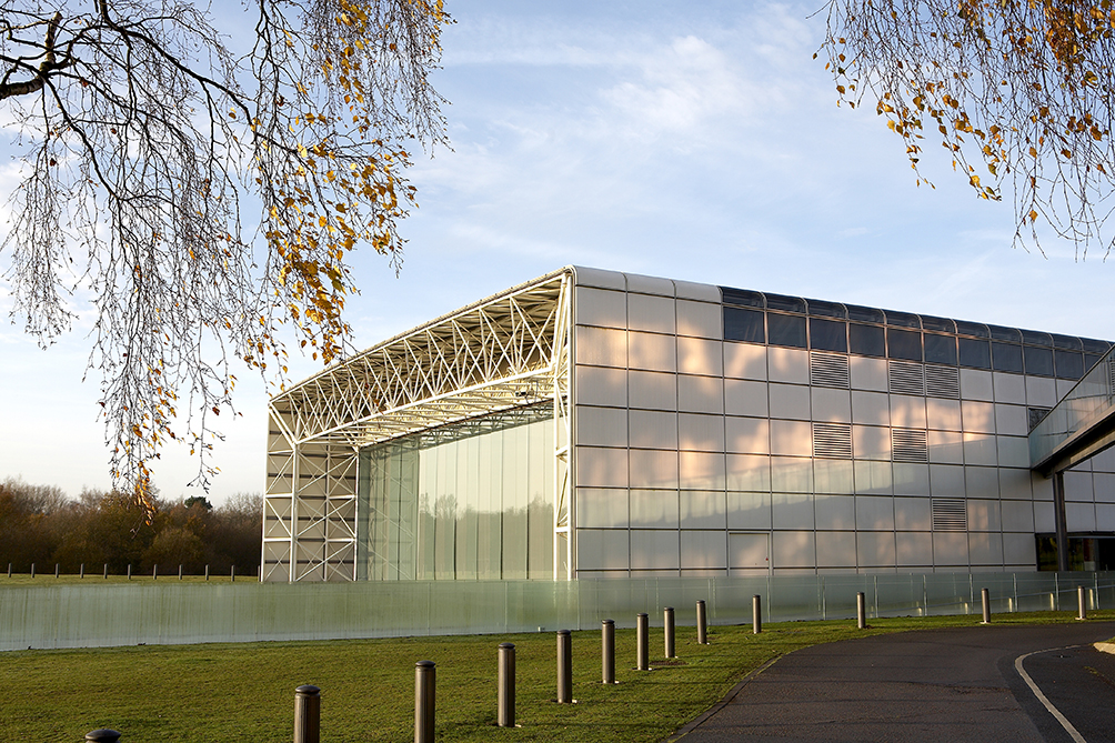 Sainsbury Centre exterior | © Pete Huggins/Courtesy of the Sainsbury Centre