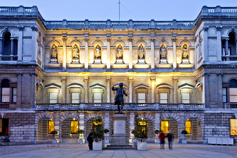 The Burlington House facade, Royal Academy of Arts | © Fraser Marr/Courtesy of Royal Academy of Arts