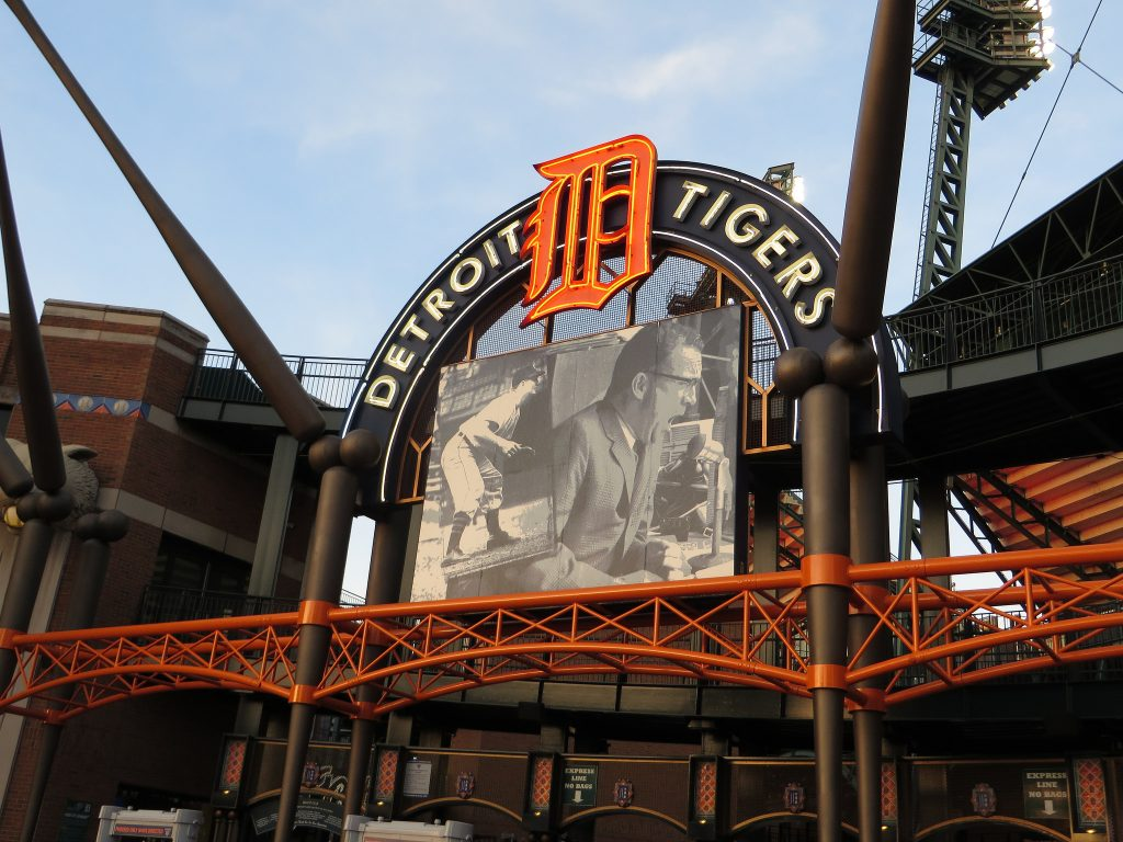 Comerica Park, home of the Detroit Tigers | © Ken Lund/Flickr
