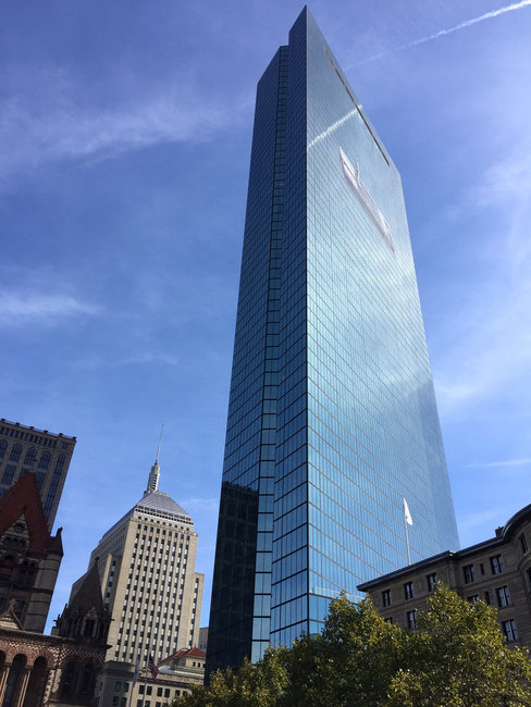 John Hancock Tower (200 Clarendon) | © Hubert Sawicki/Flickr