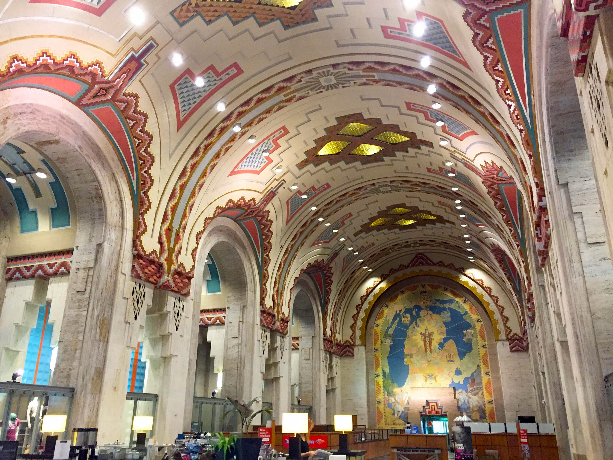 The Guardian Building's famous lobby | © Mark Souther/Flickr
