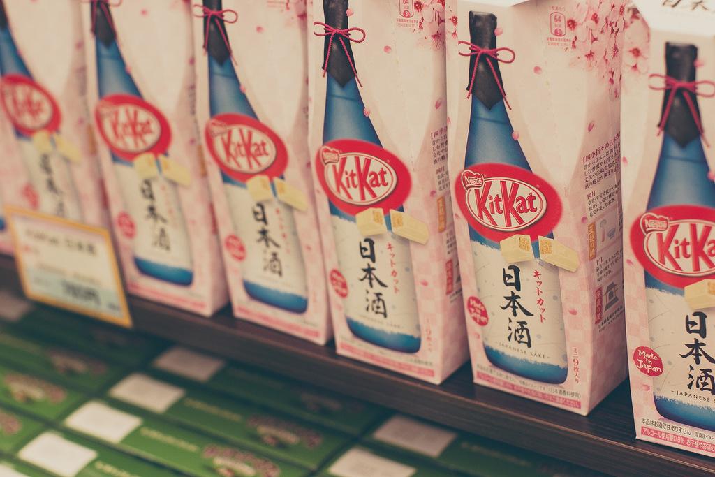 Sake + KitKats = heaven | © Luke Standridge / Flickr