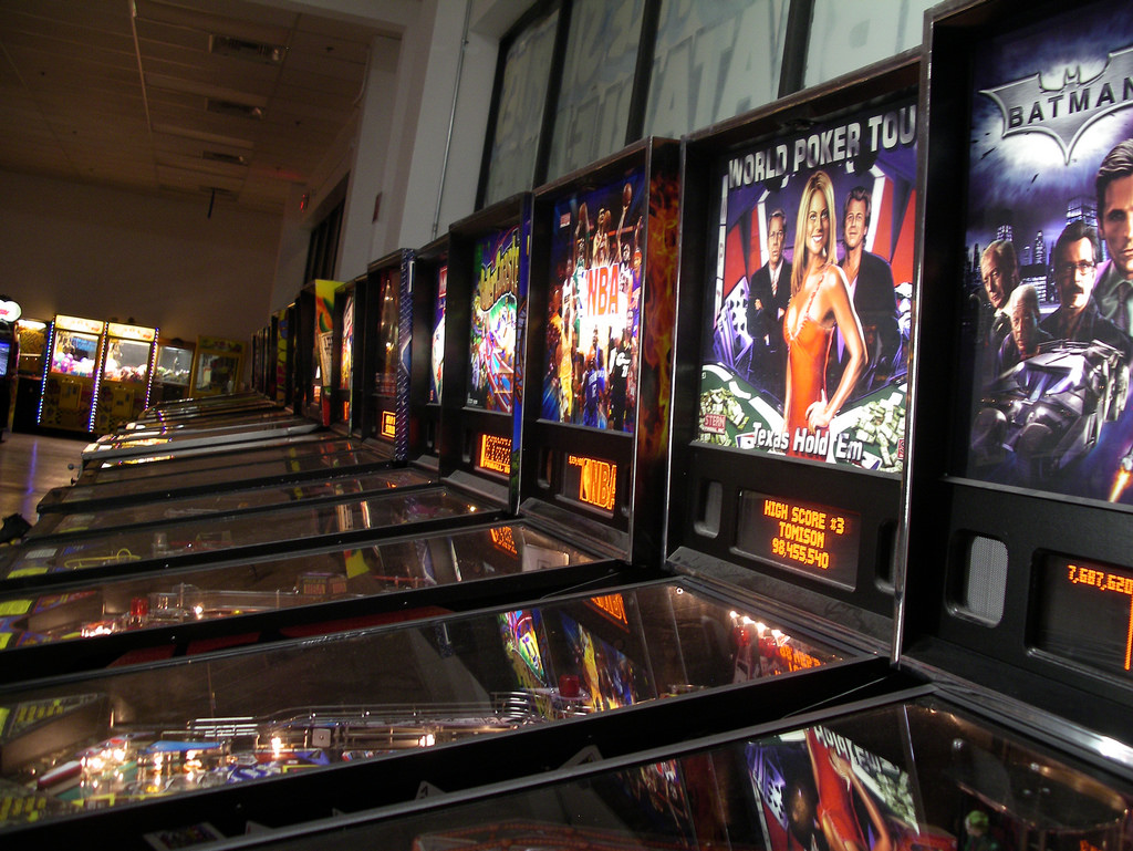 Pinball Hall of Fame | © Chris AinsworthFlickr