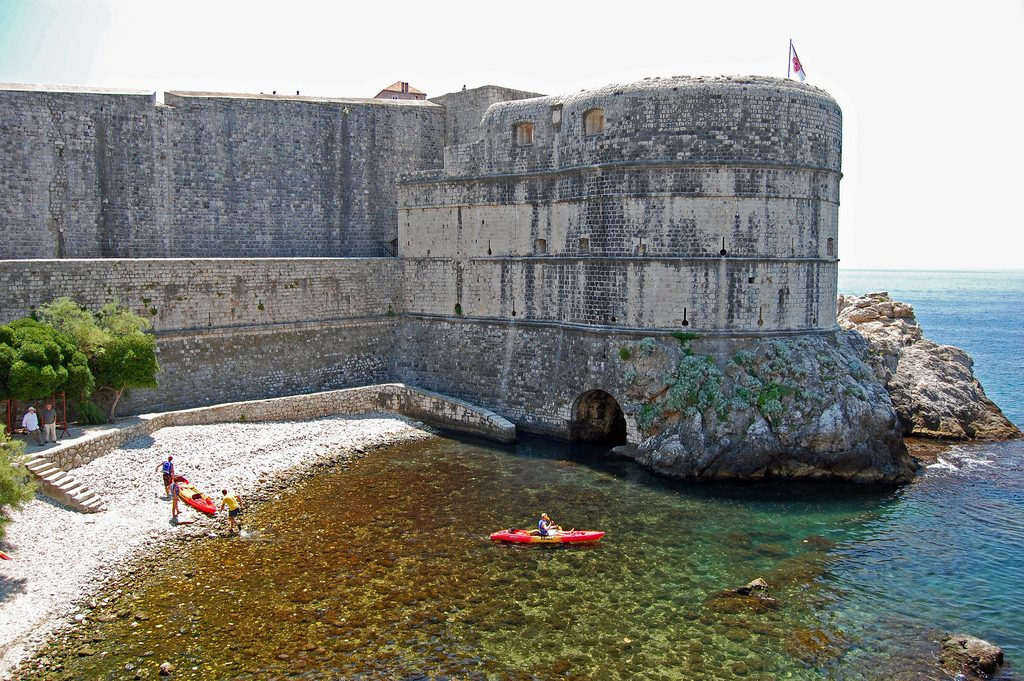 Dubrovnik sea kayaking | © Patrick G/Flickr