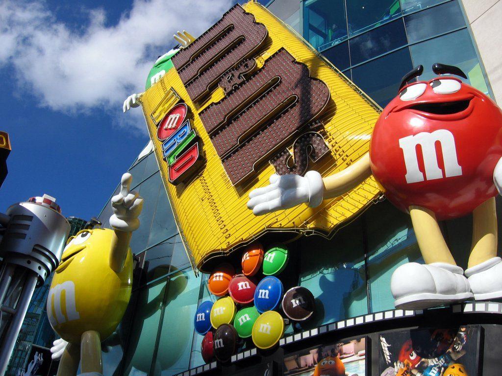 M&M Store Las Vegas | © Amit Patel/Flickr