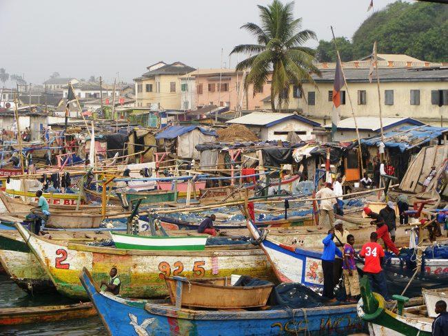 fishing boats ghana