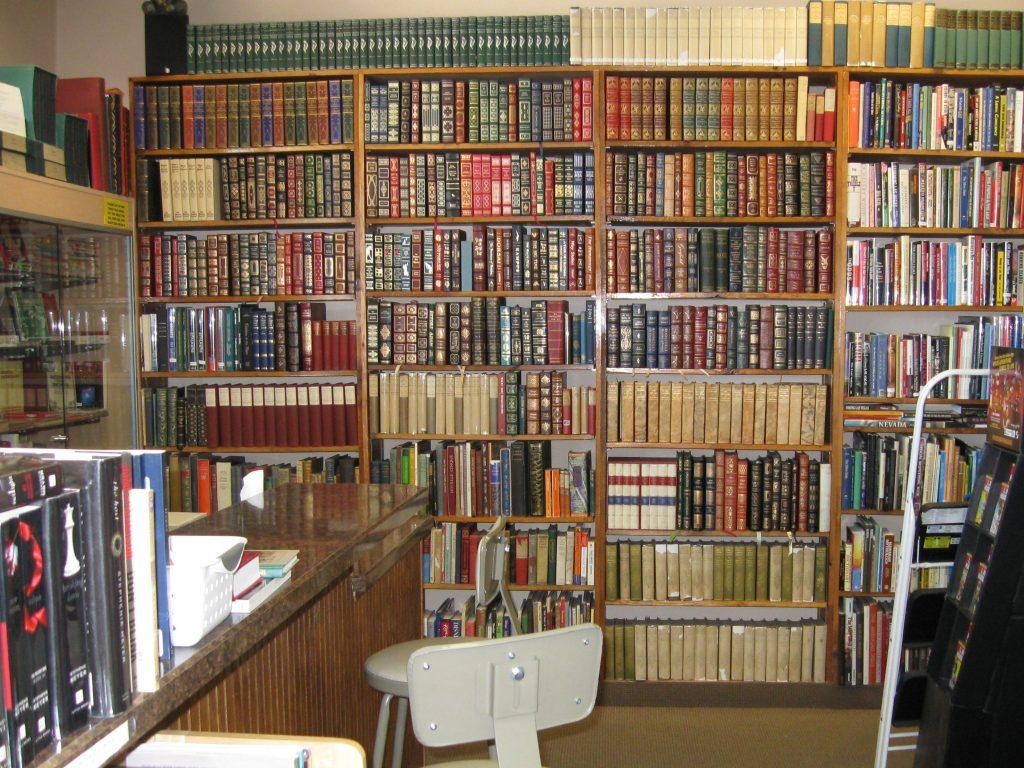 Interior of Amber Unicorn Books   Courtesy of Amber Unicorn Books