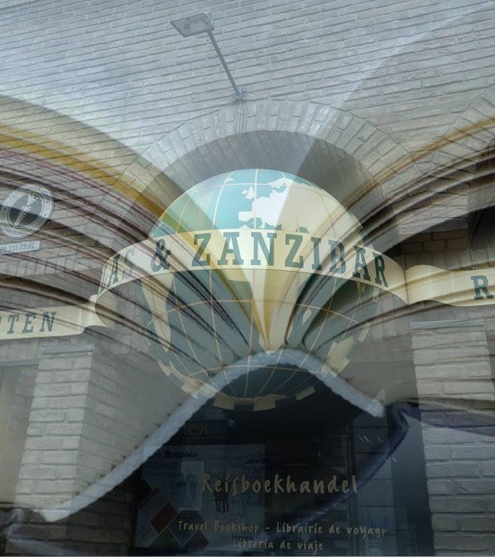 The entrance to Atlas & Zanzibar, travel bookshop and map heaven | courtesy of Atlas & Zanzibar