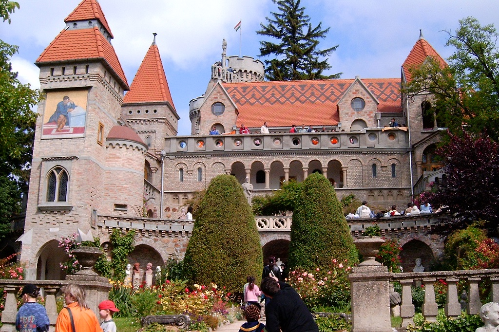 Bory castle Hungary