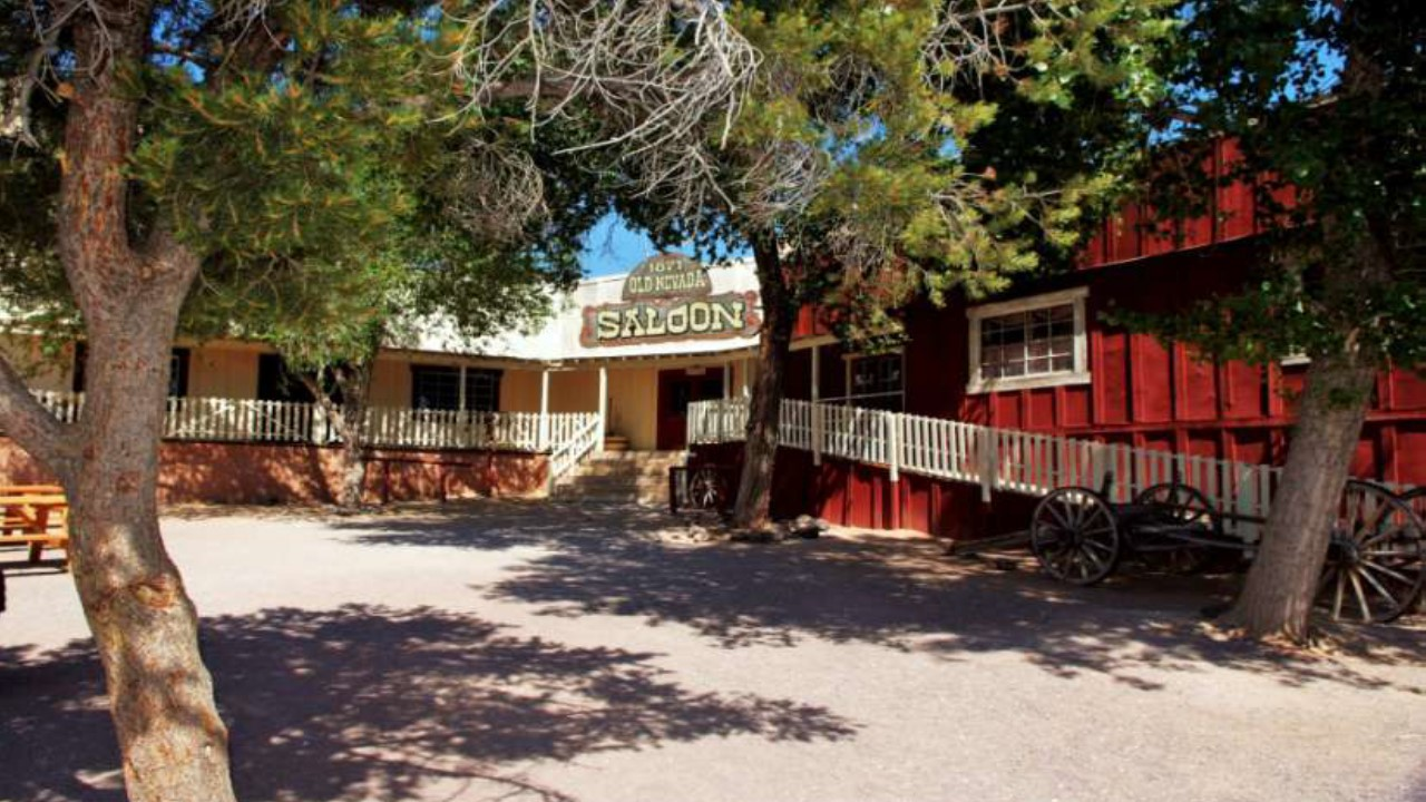 Cool Saloon inside Bonnie Springs Old Town | Courtesy of Bonnie Springs Ranch