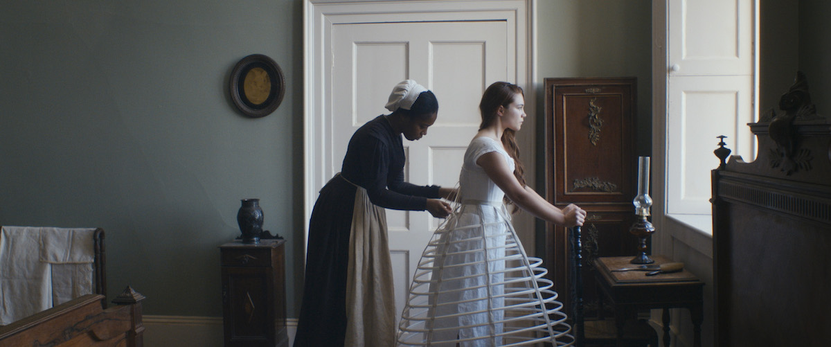 A prisoner in all but name: Naomie Ackie and Florence Pugh in 'Lady Macbeth' | © Roadside Attractions