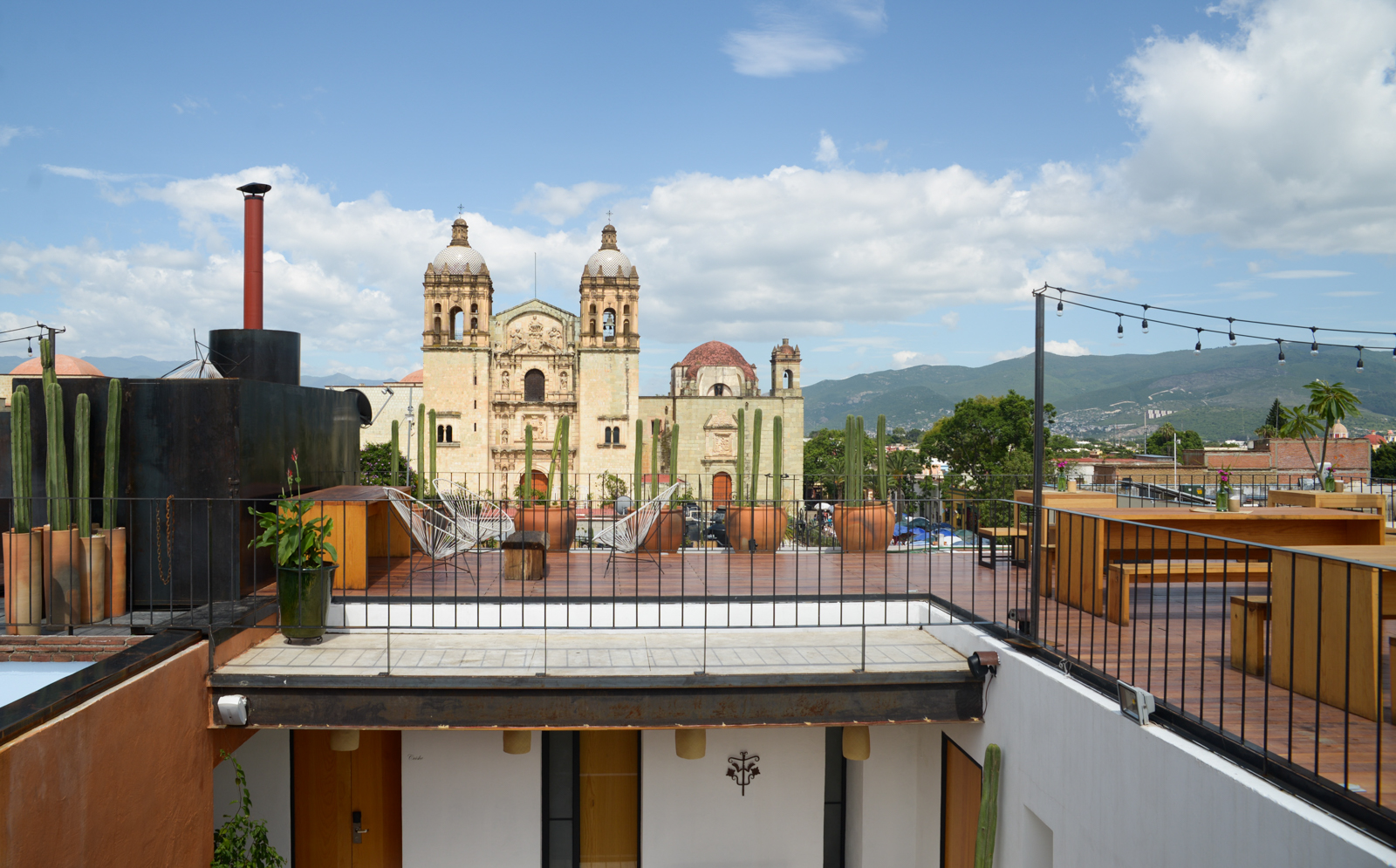 The best rooftops in oaxaca city for Boutique hotel oaxaca