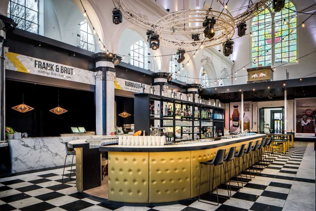Ghent's Baudelo Chapel, now housing the Holy Food Market | © Peter Baas / courtesy of Visit Ghent