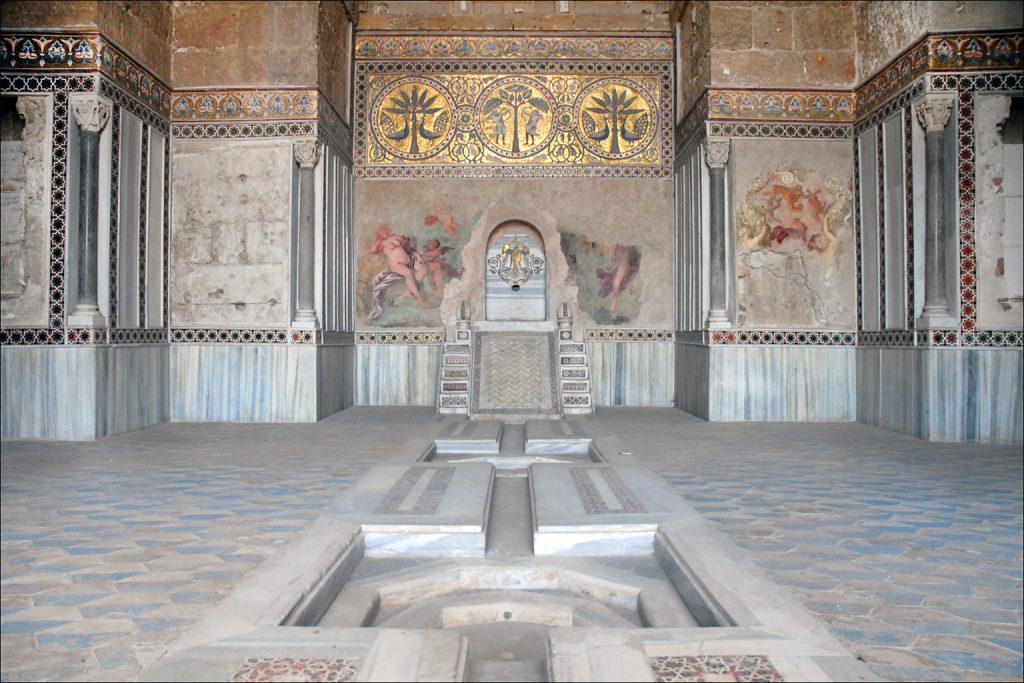 La salle de la fontaine de la Zisa©Jean-Pierre Dalbéra:Flickr.jpg