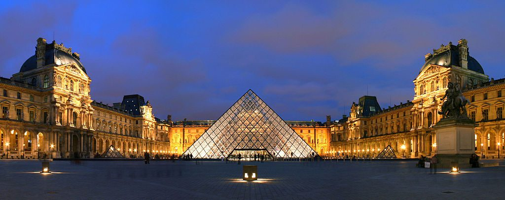 The Louvre Pyramid | Photo by Benh/WikiCommons