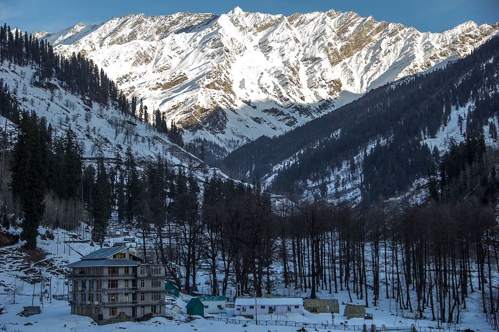 View of Manali | © Shameer Thajudeen / Wikimedia Commons