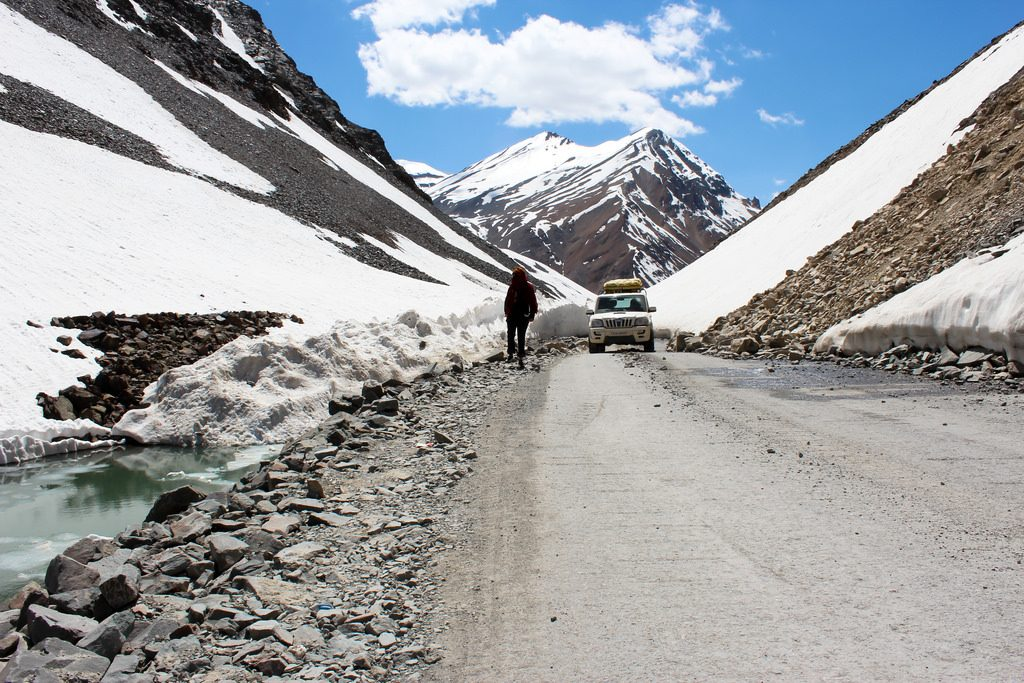 Manali to Leh road trip | © Silver Blue / Flickr
