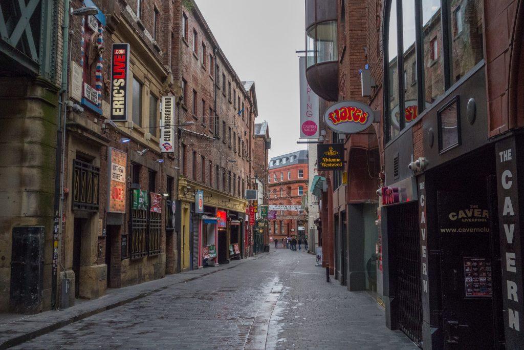 Mathew Street Liverpool Restaurants