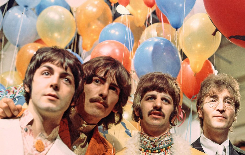 The Beatles © David Magnus/REX/Shutterstock
