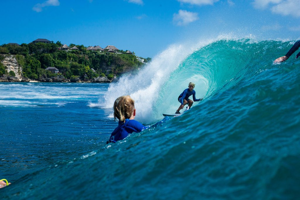 Jarvis Earle in Bali | © Luke Forgay/Volcom