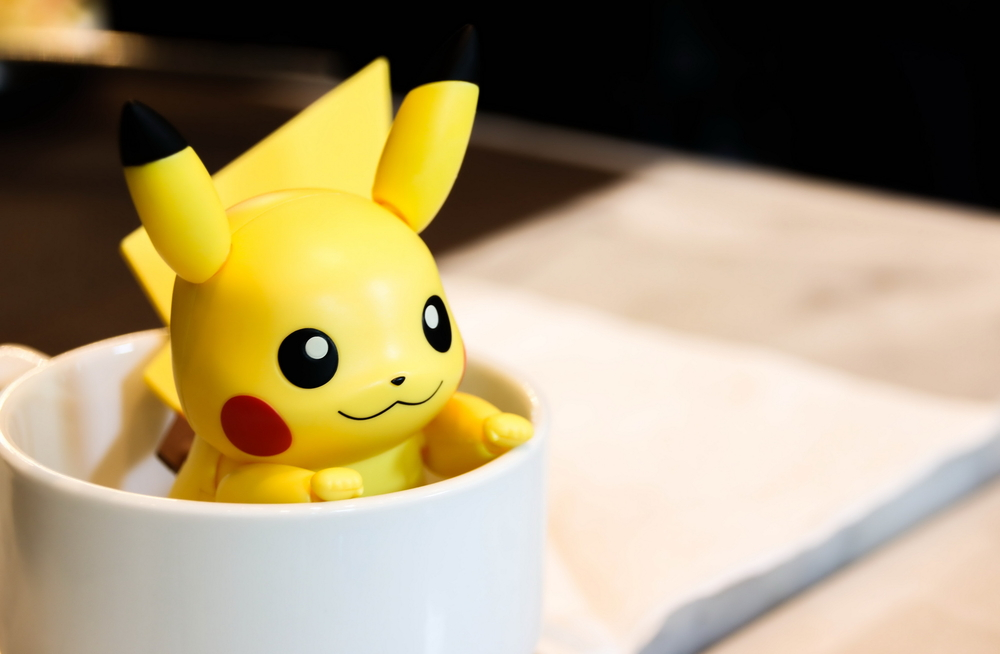 Pikachu in a cup | © small1 / Shutterstock