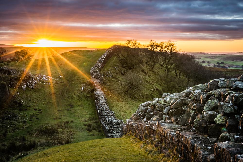 Hadrian's Wall | © Phillip Maguire/Shutterstock