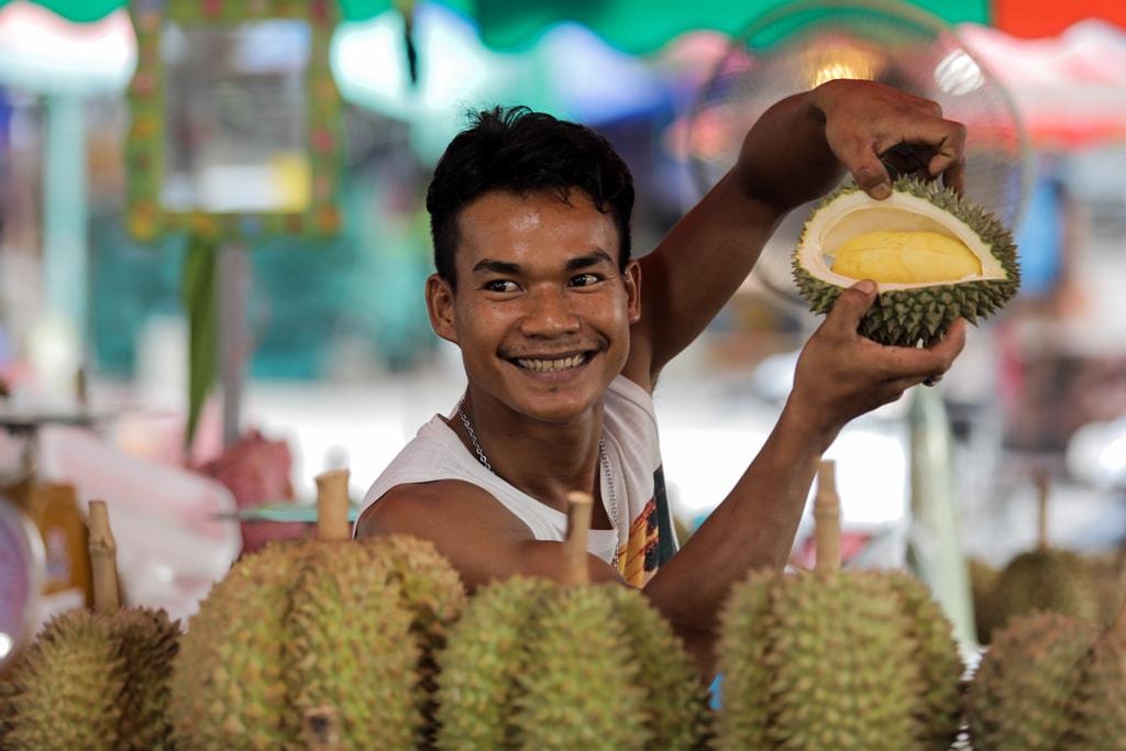 One man and his durian   © Khajonsak Manganu / Shutterstock