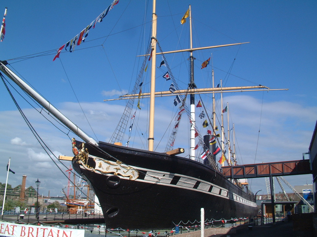 SS Great Britain | © mattbuck/WikiCommons